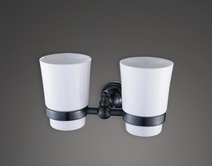 כוס כפולה ומברשות שיניים דגם BLA 784155