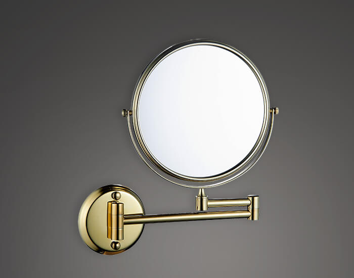 מראה מגדילה דגם R8 זהב