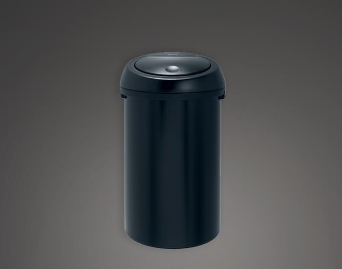 פח מעוצב למטבח 60 שחור brabantia
