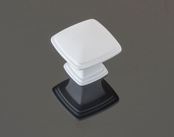 ידית כפתור בגימור לבן דגם 786034
