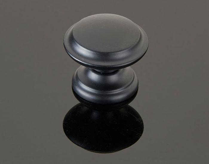 ידית כפתור בגימור שחור דגם 783131